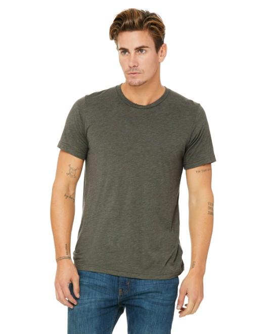 63aafc9a Bella + Canvas 3413C Unisex Triblend Short-Sleeve T-Shirt