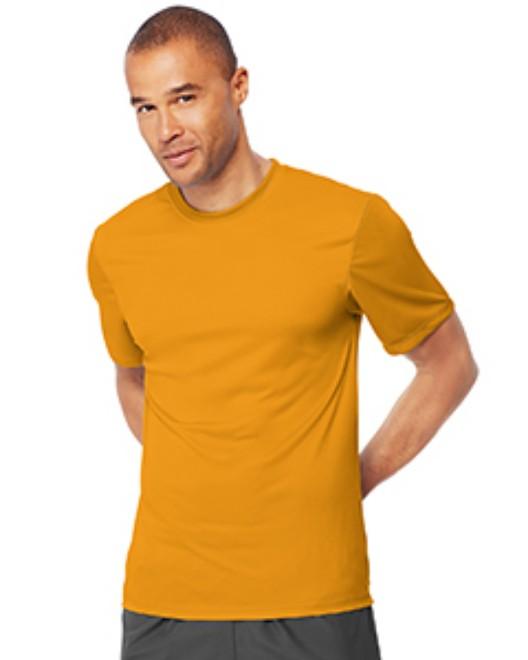 2ea93be85c1d Shirts In Bulk. Hanes 4820 Adult Cool DRI with FreshIQ T-Shirt